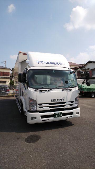 8月20日新車納車されました。
